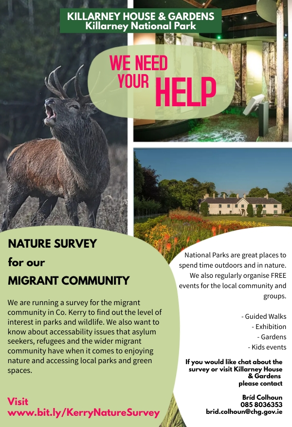 Kerry Nature Survey Promotional Poster